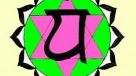 4ème Chakra: Anahata (étoile à 6 branches aux 12 pétales) «J'Aime»  Le Chakra du Cœur implique une rotation négative chez l'homme, positive chez la femme. Il est relié au...